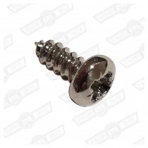 SCREW-SELF TAPPING, PAN HEAD-No.6 x 3/8'' CHROME